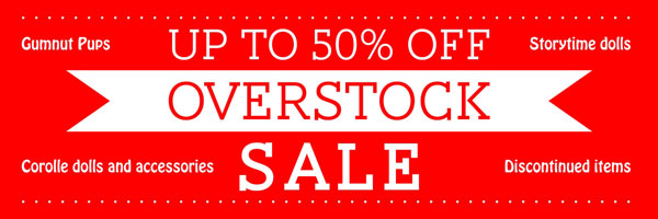 Up to 50% OFF overstock sale