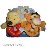 Winnie the Pooh Ring Rattles - Pooh and Tigger