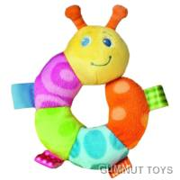 Taggies Caterpillar Rattle