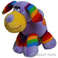 Rainbow Dog - Purple