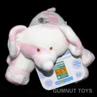Asthma Bean Bag Elephant - Pink
