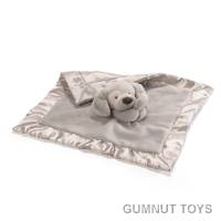 Spunky Lovey - Grey Security Blankie