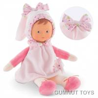 Miss Pink Cotton Flower Baby Doll