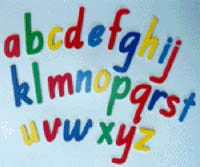 Lower Case Letters - Magnetic
