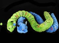 Alphabet Worm - Green