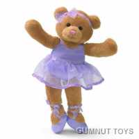 Ballerina Bear - Purple
