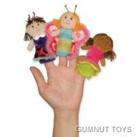Set of Springtime Sweeties Finger Puppets