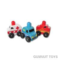 Squeaker Emergency Cars