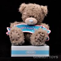 Me to You Tatty Teddy with Blue  Banner